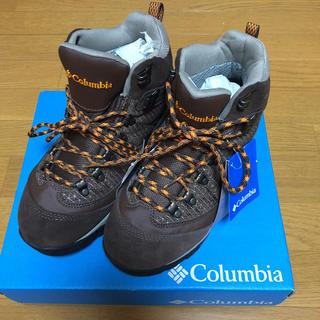 コロンビア(Columbia)のColombia  トレッキングシューズ タグ付新品  24(登山用品)