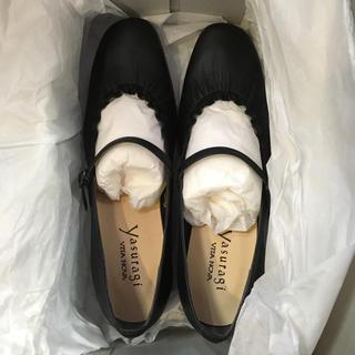 バークレー(BARCLAY)のフラットシューズ カワノ 24 24.5 vita nova 靴yasuragi(ローファー/革靴)