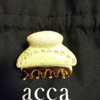 アッカ(acca)のacca クリップ(バレッタ/ヘアクリップ)