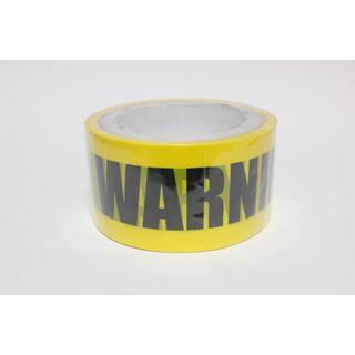 【WARNING】テープ 警告! 危険! 注意! バリケード 立入禁止 コスプレ(小道具)