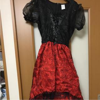 ディズニー(Disney)のハロウィン ドレス (ロングドレス)