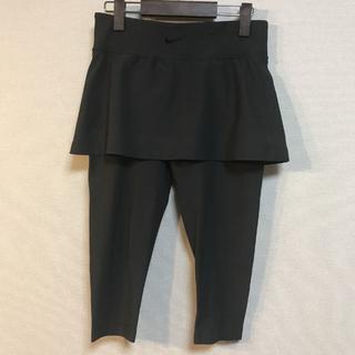 ナイキ(NIKE)のNIKE ゴルフ タイツ付スカート グレー Sサイズ レディース(ウエア)
