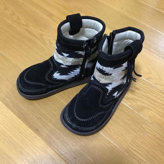 シマムラ(しまむら)の16センチ ブーツ ブラック(ブーツ)
