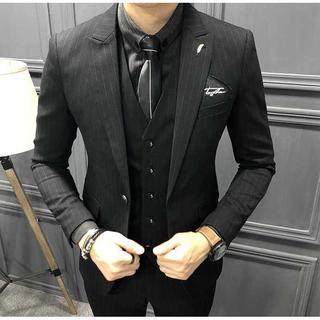 セットアップ 無地 スーツメンズ 紳士 スーツジャケット 着痩せzb384(セットアップ)
