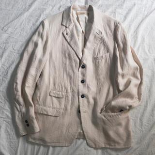 スズキタカユキ(suzuki takayuki)のsuzuki takayuki linen jacket Ⅰ(テーラードジャケット)