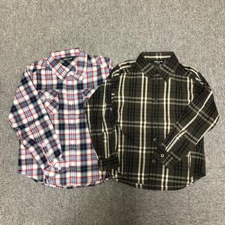 コムサイズム(COMME CA ISM)の【新品】コムサイズム 100センチ 長袖シャツ(ブラウス)
