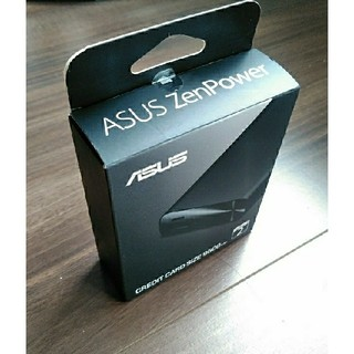エイスース(ASUS)のASUS純正 ZENPOWER 9600mAh モバイルバッテリー(バッテリー/充電器)