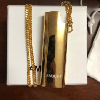 アンブッシュ(AMBUSH)のライターケース ネックレス (ネックレス)