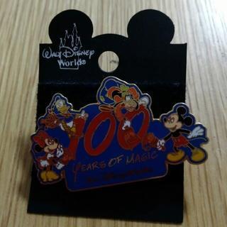 ディズニー(Disney)のフロリダ ディズニーワールド 100 years of magic ピンバッチ(バッジ/ピンバッジ)