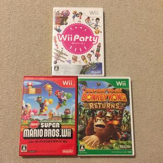 Wii - Wii ソフト3枚セット