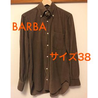 バルバ(BARBA)のBARBA (バルバ)コーデュロイシャツ サイズ38(シャツ)