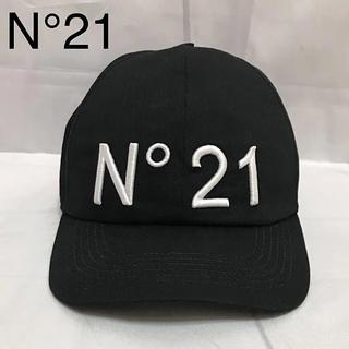 ヌメロヴェントゥーノ(N°21)の【N°21】ヌメロヴェントゥーノ ブラック    ユニセックス 国内正規品(キャップ)