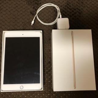 アップル(Apple)のiPad mini4  32GB ゴールド(タブレット)