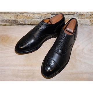 オールデン(Alden)の最高級品 オールデン Alden キャップトゥドレス 黒 27,528cm(ドレス/ビジネス)