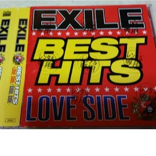 EXILE☆CD2枚組『BEST  HITS 』レンタル落ち(ポップス/ロック(邦楽))