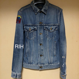 Saint Laurent - S新品 16SS SAINT LAURENT  Gジャン デニム denim