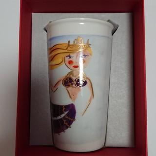 スターバックスコーヒー(Starbucks Coffee)のスタバ海外陶器タンブラーサイレンカップ(タンブラー)