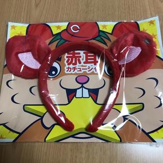 ヒロシマトウヨウカープ(広島東洋カープ)のカープ 赤耳カチューシャ(応援グッズ)