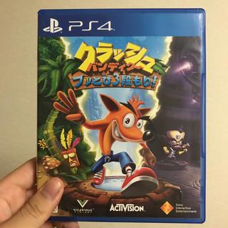 プレイステーション4(PlayStation4)のクラッシュバンディクー ぶっ飛び3段もり!(家庭用ゲームソフト)