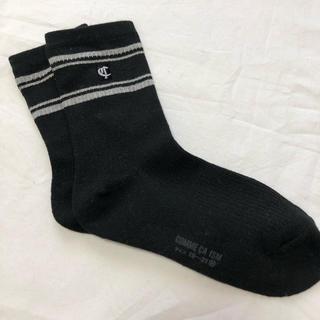 コムサイズム(COMME CA ISM)のコムサイズム 靴下19〜21センチ(靴下/タイツ)