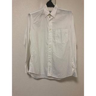 インディヴィジュアライズドシャツ(INDIVIDUALIZED SHIRTS)のindividualized shirts アメリカ製 白(シャツ)