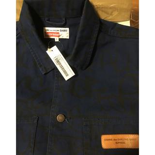 シュプリーム(Supreme)のsupreme comme des garcons shirt navy(その他)