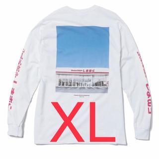 シマムラ(しまむら)のXLサイズ ZOZOTOWN × しまむら コラボ ロンT ホワイト 白 ゾゾ(Tシャツ/カットソー(七分/長袖))