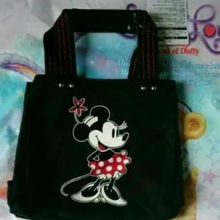 Disney - ミニ トートバッグ M 黒 ディズニーリゾート