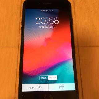 アップル(Apple)の出品【最終値下げ!】iphone7jetblack128GBdocomo(スマートフォン本体)