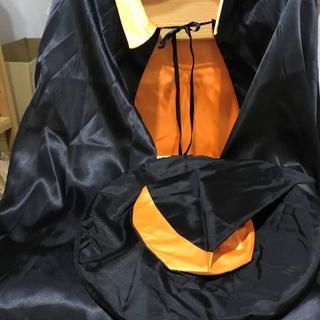 ハロウィン 仮装 魔女 マントと帽子(衣装一式)