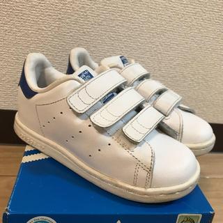 アディダス(adidas)のaddidas STANSMITH コバルト 16㎝(スニーカー)