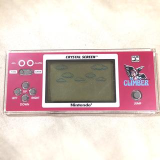 ニンテンドウ(任天堂)の新品 クリスタルスクリーン ゲームウォッチ ニンテンドー Nintendo 海外(家庭用ゲーム本体)