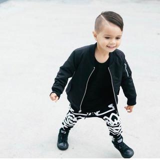 ナイキ(NIKE)のADAM + YVE バロック柄パンツ 1歳・2歳サイズ(パンツ)