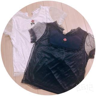 アンクルージュ(Ank Rouge)のアンクルージュ    薔薇  2枚セット(シャツ/ブラウス(半袖/袖なし))