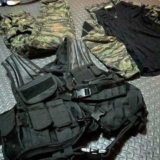 JGSDF サバゲー 装備一式 ベスト(戦闘服)