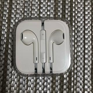 アップル(Apple)のアイフォン イヤホン 純正品(ヘッドフォン/イヤフォン)