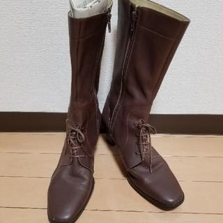 ブーツ ブラウン 恐らく革製品?(ブーツ)