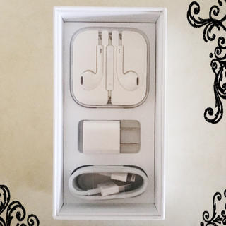 アップル(Apple)のiPhone 6s 付属品6点セット 純正・正規品(ヘッドフォン/イヤフォン)