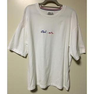 アバハウス(ABAHOUSE)のABAHOUSE×CEIZER ロゴTシャツ(Tシャツ/カットソー(半袖/袖なし))
