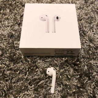 アップル(Apple)のAirPods 正規品 左耳 新品未使用(ヘッドフォン/イヤフォン)