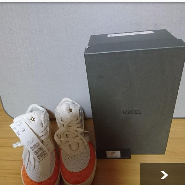 IZREEL(イズリール)の最終値下げ限定価格 メンズの靴/シューズ(スニーカー)の商品写真