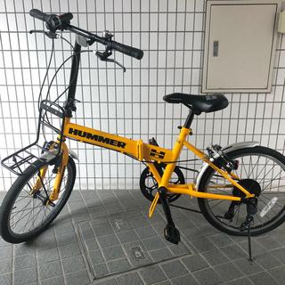 ハマー(HUMMER)のハマー 折りたたみ自転車 自転車 折りたたみ HUMMER(自転車本体)