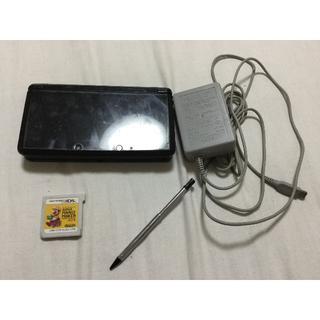 ニンテンドウ(任天堂)の任天堂3DS(黒)(携帯用ゲーム本体)