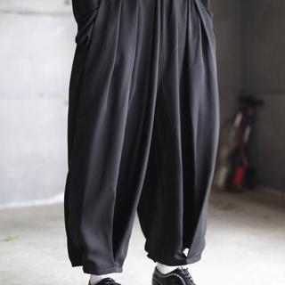 ヨウジヤマモト(Yohji Yamamoto)のkujaku 樹陰パンツ(サルエルパンツ)