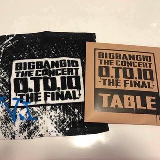 ビッグバン(BIGBANG)のBig Bangカフェ限定販売品☆スンリ、スンちゃんハンドタオル(アイドルグッズ)