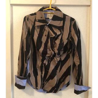 ヴィヴィアンウエストウッド(Vivienne Westwood)の【プラネコ様専用】anarchy stripes shirts(シャツ/ブラウス(半袖/袖なし))