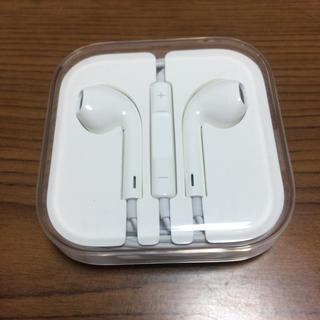 アップル(Apple)のアイフォン イヤホン 新品・未使用(ヘッドフォン/イヤフォン)