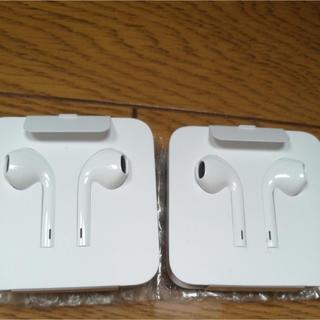 アップル(Apple)のIphone7イヤホン純正[2セット](ヘッドフォン/イヤフォン)