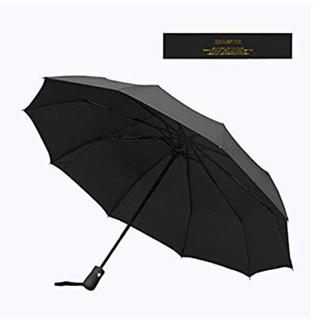 らて様専用。 折りたたみ傘 ワンタッチ自動開閉 ブラック(傘)