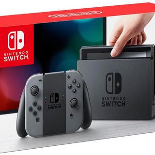 ニンテンドースイッチ(Nintendo Switch)の新品◇ Nintendo Switch 本体 グレー(家庭用ゲーム本体)